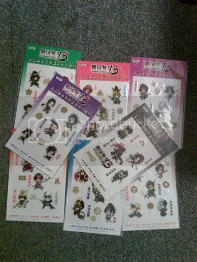 Samurai Warriors 3 Merchandise / Goodies