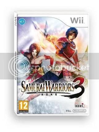 Samurai Warriors 3 European Packshot