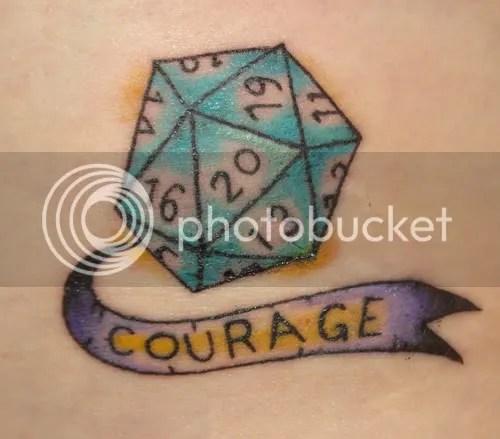 W20-Tattoo. Kann es noch cooler werden, oder was?