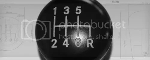6-Speed Shift Knob
