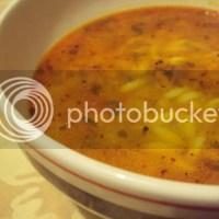 Vogeltongetjes (riso/orzo) soep: part 1