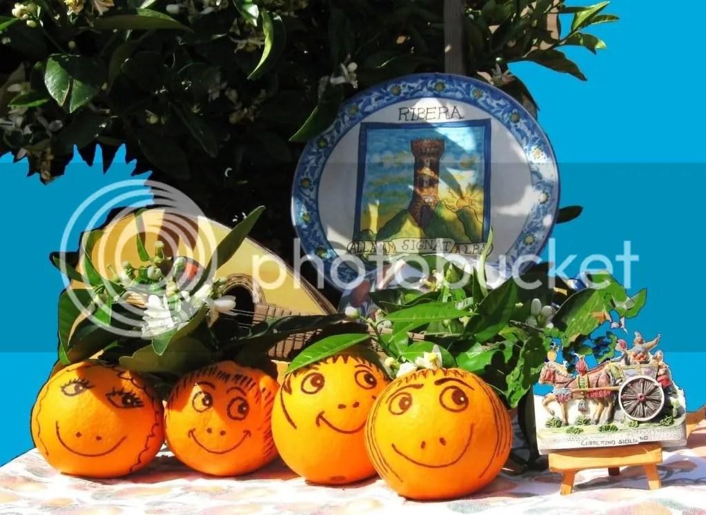 CODICE: S-14. TITOLO: Ribera, le arance che ci sorridono