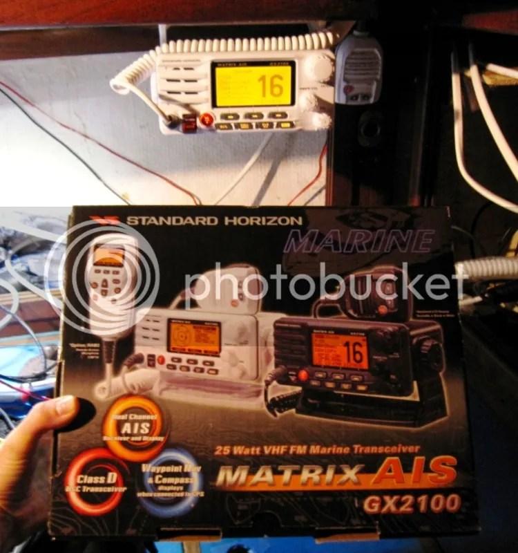 Horizon VHF Radio installed