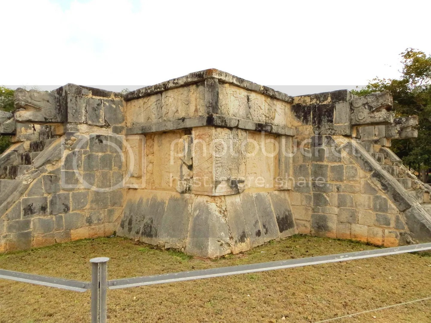 Chichen Itza Temple Carvings