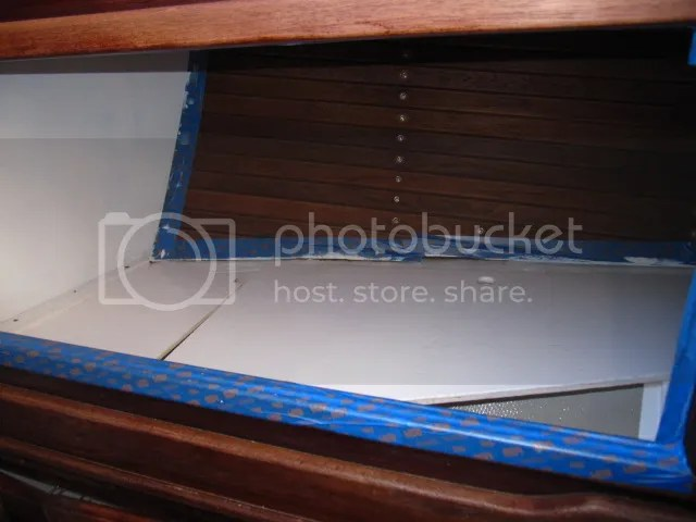 Painting Slats with bilgekote