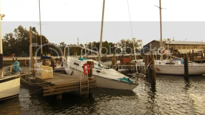 Sailboat Wrecked