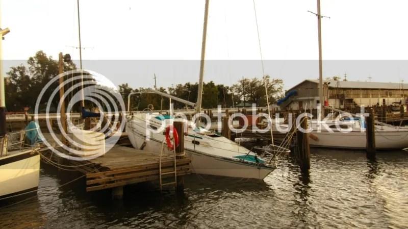 Sailboat Wrecked