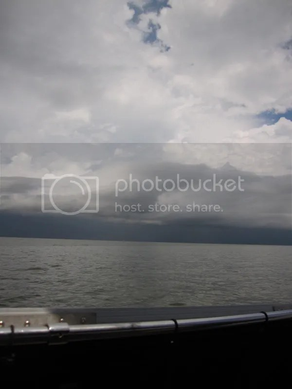 Storms on Lake Pontchartrain