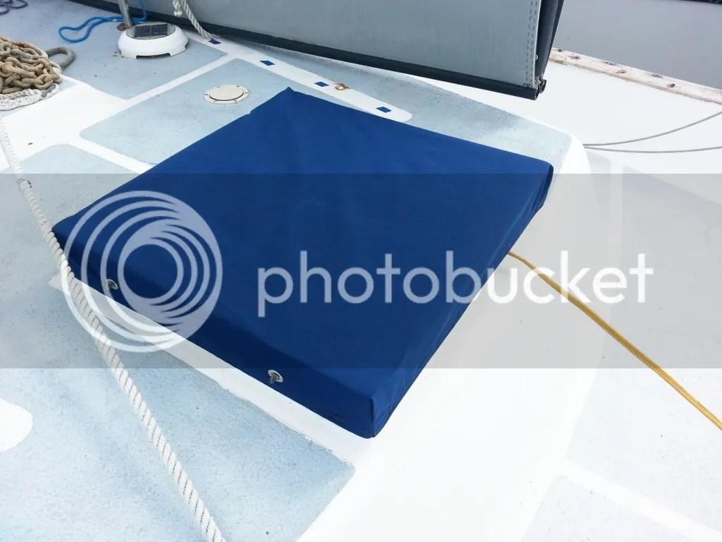 Forward hatch canvas