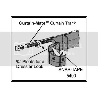 Curtain mate curtain rods