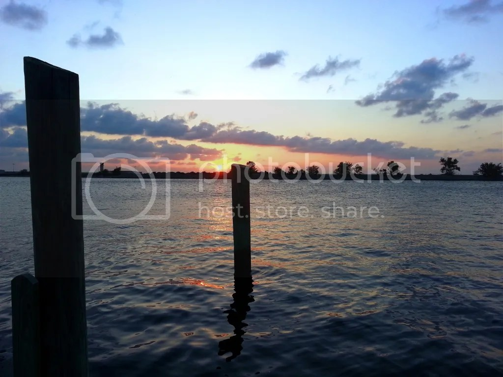 Sunset at Southshore harbor