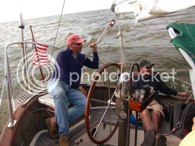 Sailing the North Shore caphorn windvane