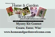 Home and Garden Welcome Mystery Craft Contest