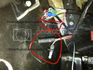 66 coupe C4 underdash wiring questionpicture  Vintage Mustang Forums