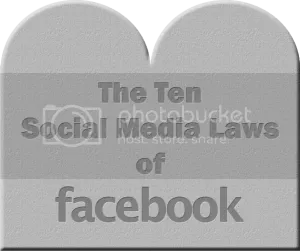laws of facebook