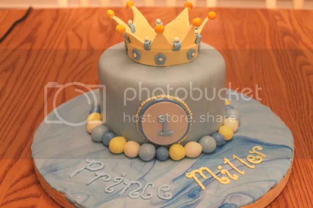 Incredible Prince Cake 1St Birthday Pixie Cakes Funny Birthday Cards Online Eattedamsfinfo