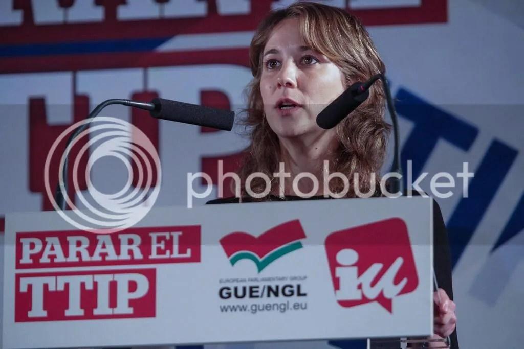 Marina Albiol Convocatoria proceso selección asistente local delegación IU en el Parlamento Europeo