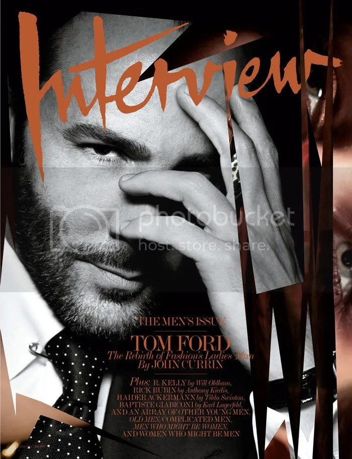 Tom Ford Interview Magazine