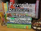 Favorite Resource This Week