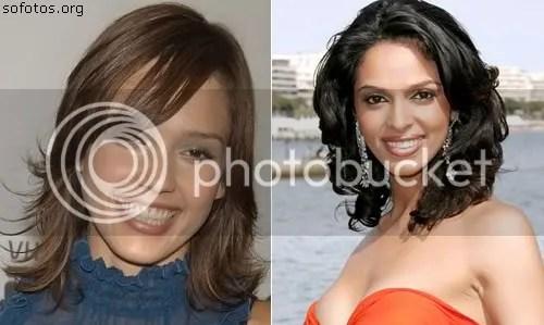 cortes de cabelo das celebridades