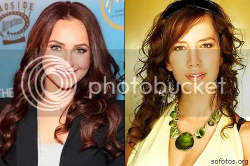 cortes de cabelo feminino ruivo longo 001