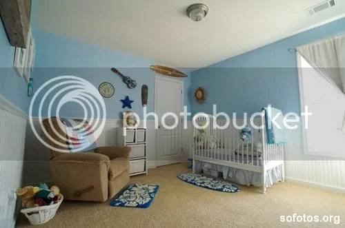 Quarto de bebe azul