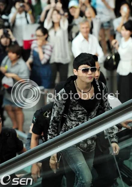 [PICS] 110613 JaeSu @ Incheon Airport