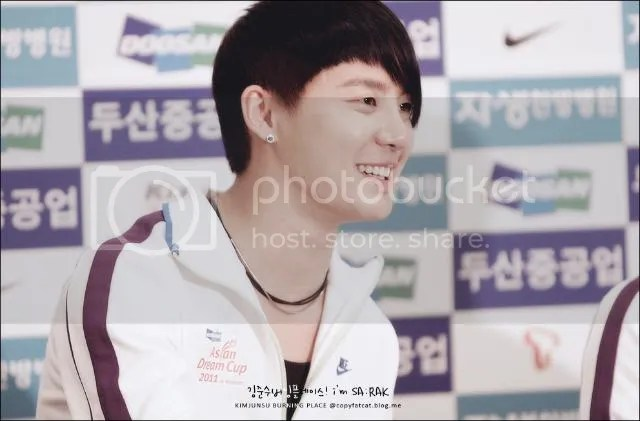 "[PICS] JaeSu at ""Asian Dream Cup 2011"" Press Conference, Part 2"