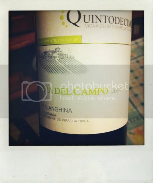 "Campania IGT Falanghina ""Via del Campo"" 2009, Quintodecimo, Uploaded from the Photobucket iPhone App"