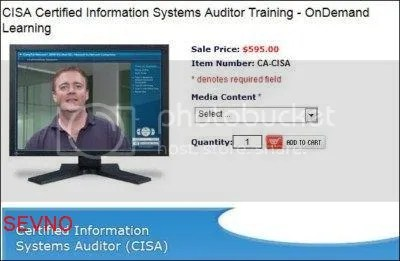 CISA Certified Information Systems Auditor Training - OnDemand Learning