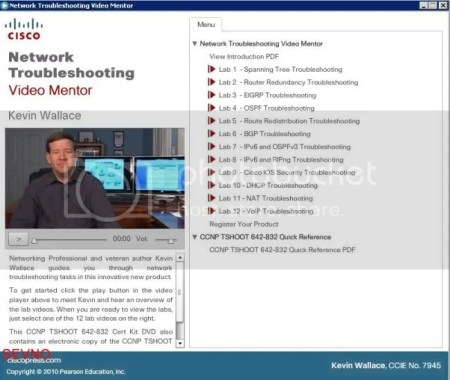 Cisco Press Network Troubleshooting Video Mentor