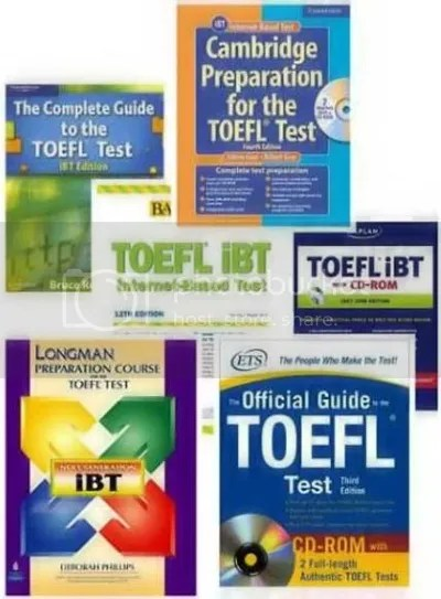 Collection of 7 TOEFL Preparation Programs