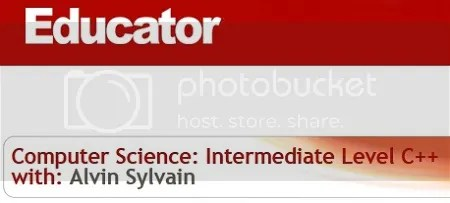Educator - Computer Science: Intermediate Level C++