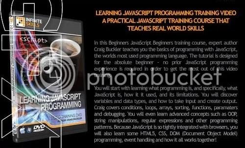 Infiniteskills - Learning JavaScript Programming + Working Files