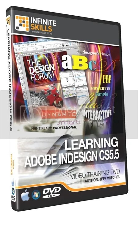 Infiniteskills - Adobe InDesign CS5.5 Training + Working Files