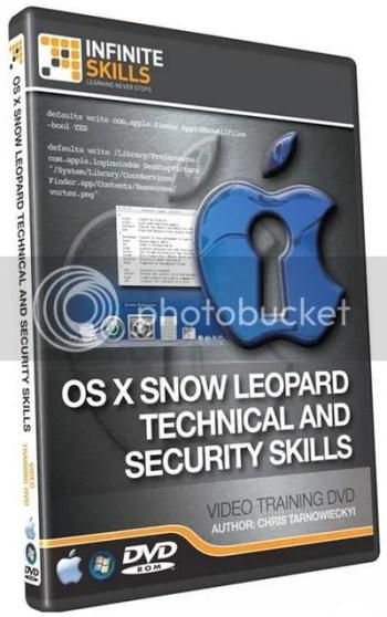 Infiniteskills - Advanced OS X 10.6 Technical - Security + Working Files