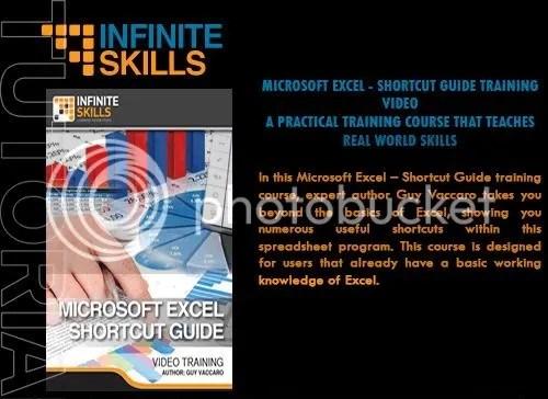 Infiniteskills - Microsoft Excel - Shortcut Guide + Working Files