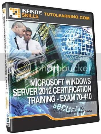 Infiniteskills - Windows Server 2012 Certification Training - Exam 70-410 + Working Files