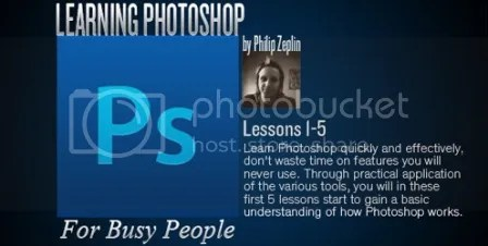 Learning Photoshop For Busy People - Lessons 1-5 Training