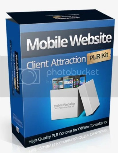 Mobile Website Client Attraction Traning Pack High Quality Content for Offline Consultants
