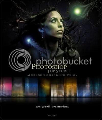 Photoshop Top Secret DVD 3 - Interactive Video Tutorial