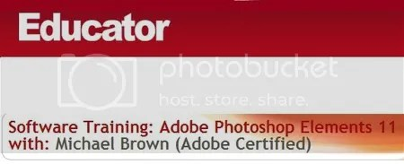 Software Training: Adobe Photoshop Elements 11 with Michael Brown (Adobe Certified)
