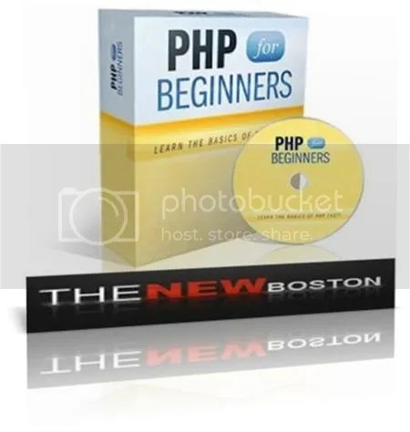 TheNewBoston - Beginner PHP