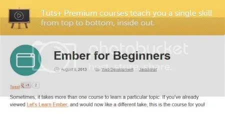 Tuts+ Premium - Ember for Beginners