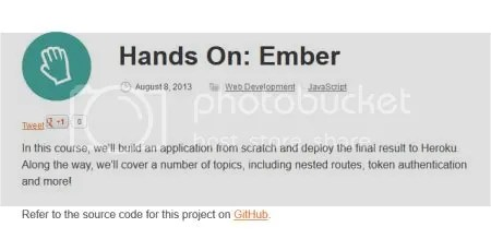 Tuts+ Premium - Hands On: Ember