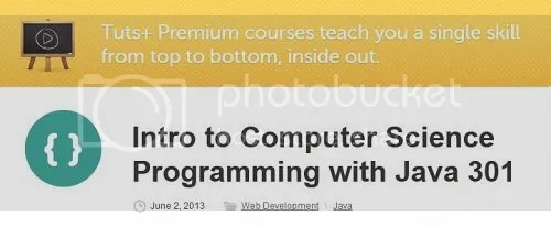 Tuts+ Premium - Intro to Computer Science Programming with Java 301