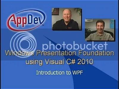 AppDev - MS Windows Presentation Foundation (WPF) Using Visual C# 2010