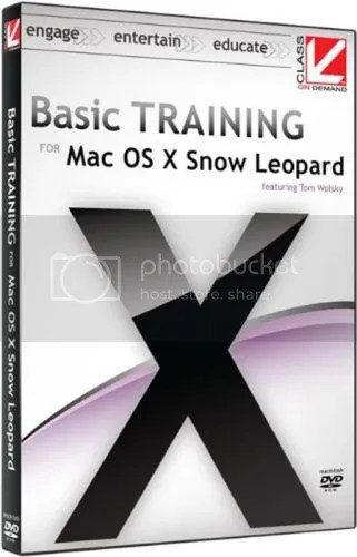 Class On Demand – Basic Training for Mac OS X Snow Leopard