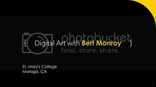 Bert Monroy, Digital Painter and Illustrator