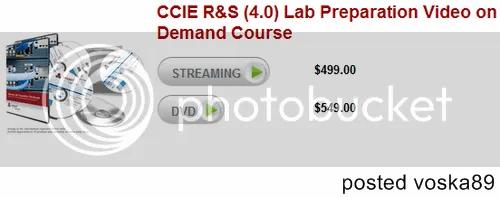 CCIE R&S (4.0) Lab Preparation Video on Demand Course Training